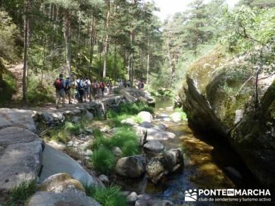 Las Pesquerías Reales - Senderismo Segovia (Ruta de las Pesquerías Reales); trekking europa